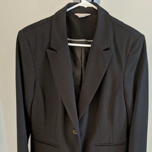 Black Liz Claiborne Blazer/Suit Jacket